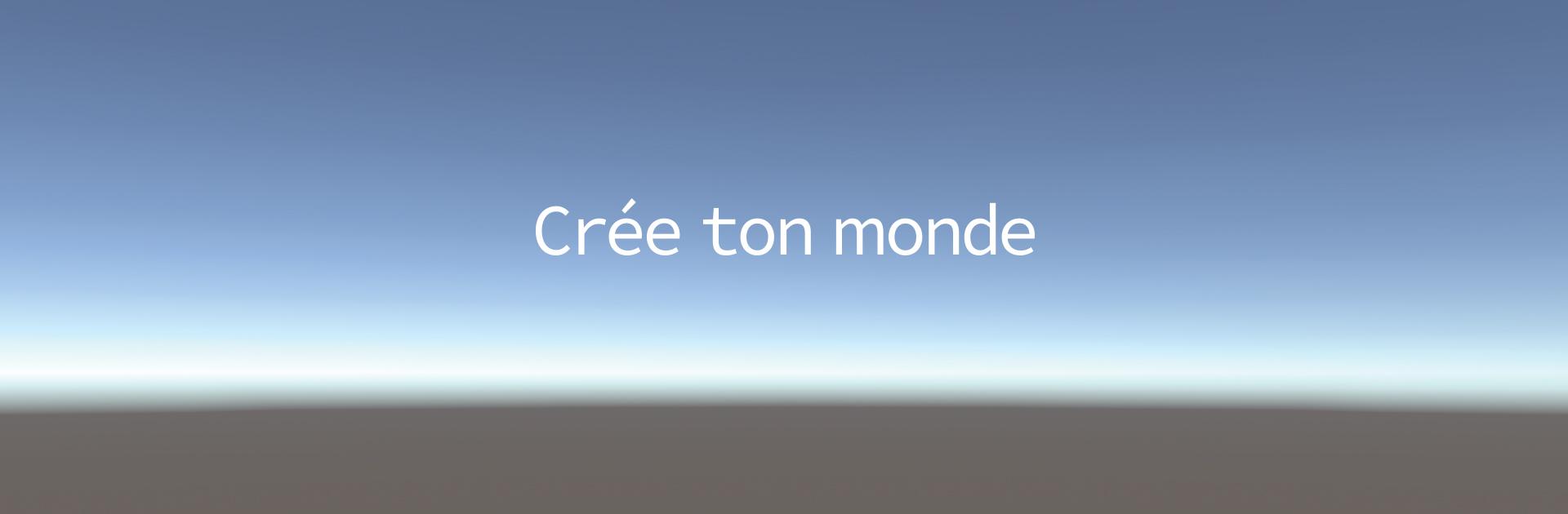 Nouvelle campagne publicitaire de recrutement « Crée ton monde »