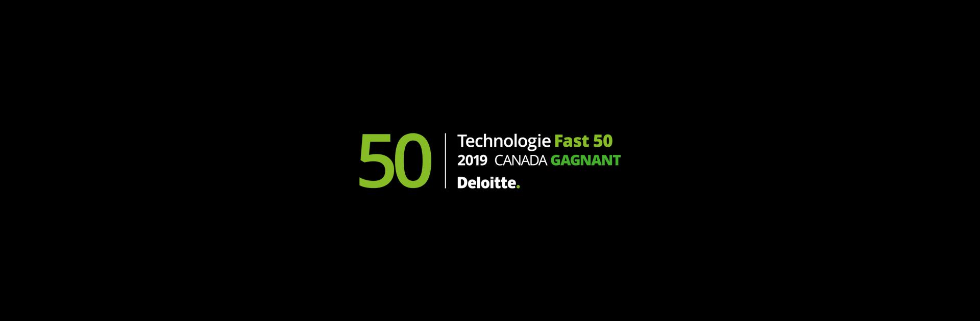 Behaviour Interactif s'est classée parmi les lauréates de la catégorie Entreprises Fast 15 du palmarès Technologie Fast 50, et figure au palmarès Technology Fast 500 de Deloitte