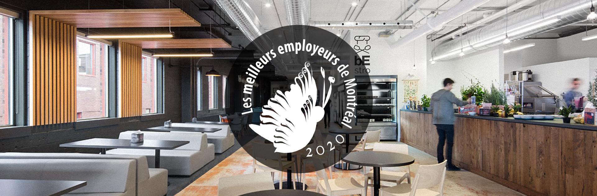 Behaviour nommé l'un des Meilleurs Employeurs de Montréal
