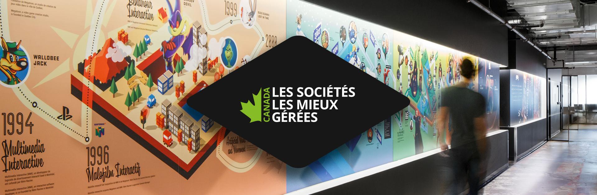 Deloitte désigne Behaviour Interactif comme l'une des sociétés les mieux gérées au Canada