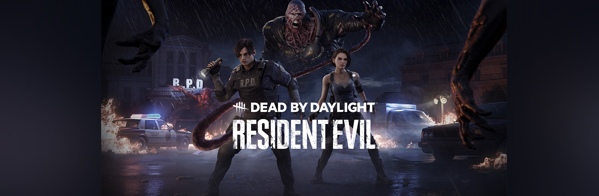 Dead by Daylight Launches Resident Evil Chapter and Reveals Chris and Claire Redfield Legendary Sets