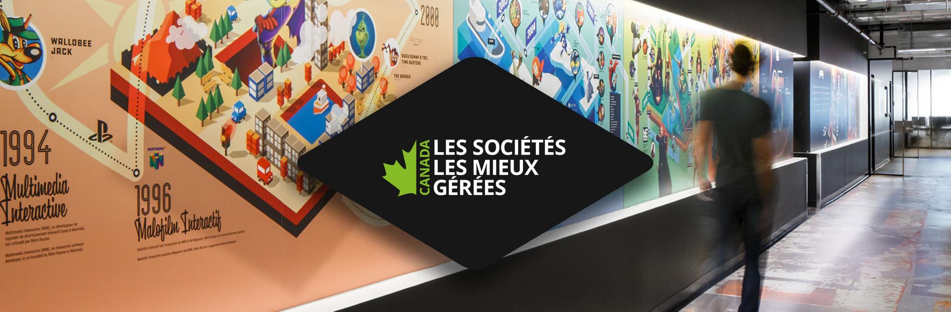 Behaviour Interactif désignée à nouveau une des Sociétés les mieux gérées au Canada par Deloitte
